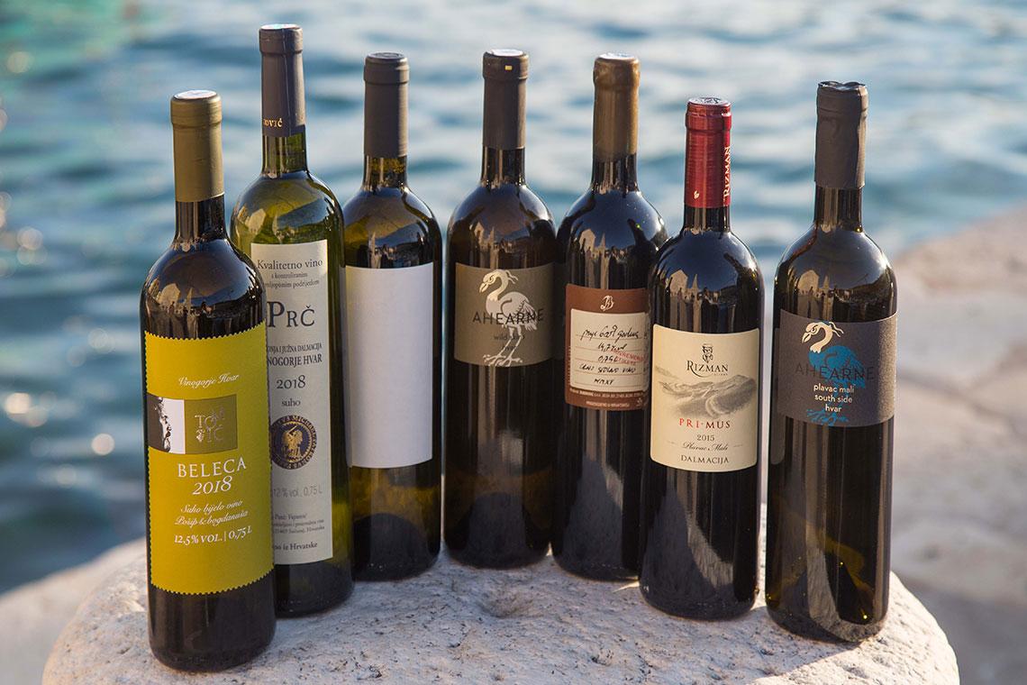 Wine tasting vina iz Dalmacije