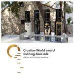 Croatian award winning olive oils